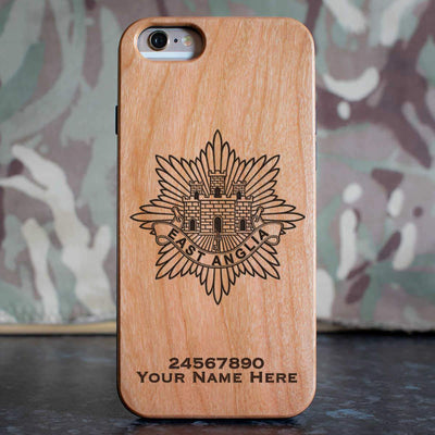 East Anglia Regiment Phone Case