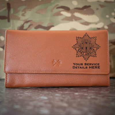East Anglia Regiment Leather Purse