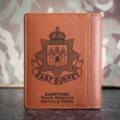 East Surrey Regiment Credit Card Wallet