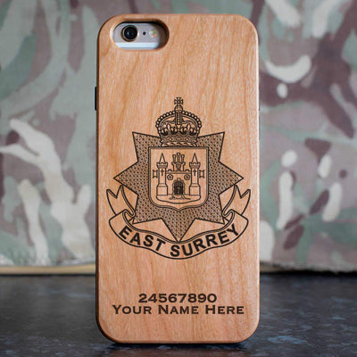 East Surrey Regiment Phone Case