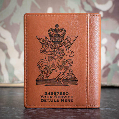 Fife and Forfar Yeomanry Scottish Horse Credit Card Wallet