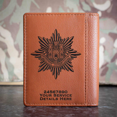 Royal Anglian Regiment Credit Card Wallet