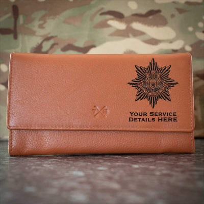 Royal Anglian Regiment Leather Purse
