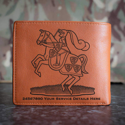 Fife and Forfar Yeomanry Leather Wallet
