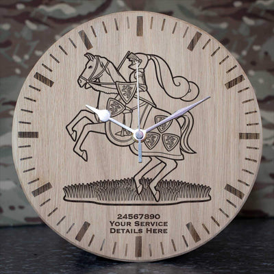 Fife and Forfar Yeomanry Oak Clock