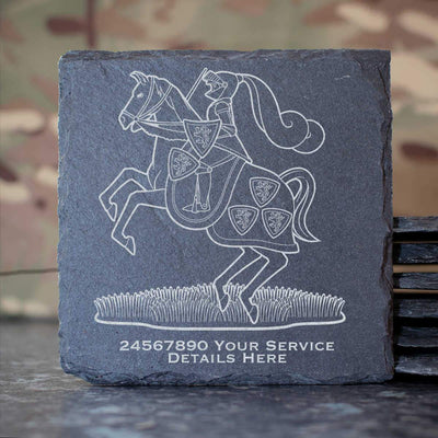 Fife and Forfar Yeomanry Slate Coaster