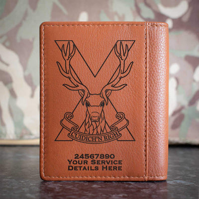 Highland Band Credit Card Wallet