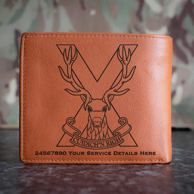 Highland Band Leather Wallet