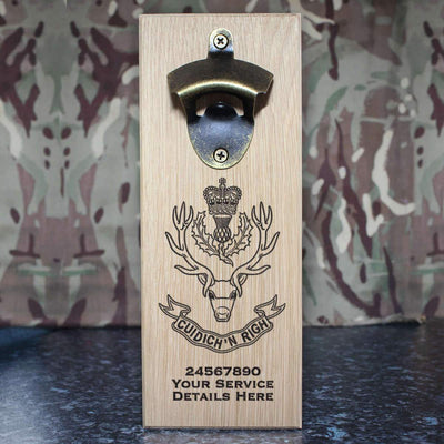Highlanders Wall-Mounted Bottle Opener
