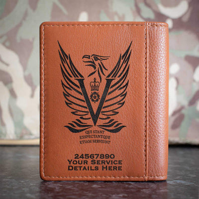 Intelligence Corps 5MI Battalion Credit Card Wallet