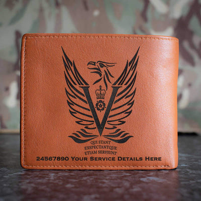 Intelligence Corps 5MI Battalion Leather Wallet
