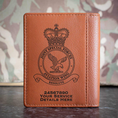 Joint Special Forces Aviation Wing Credit Card Wallet