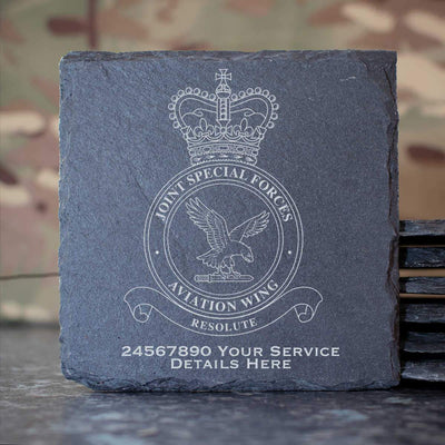 Joint Special Forces Aviation Wing Slate Coaster