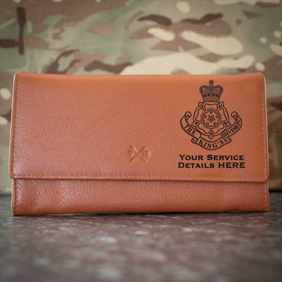 Kings Division Leather Purse