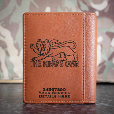 Kings Own Royal Regiment Credit Card Wallet