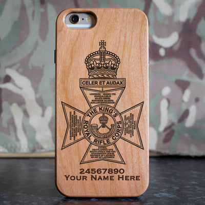 Kings Royal Rifle Corps Phone Case