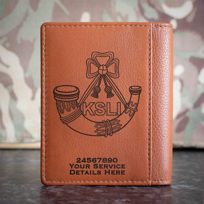 Kings Shropshire Light Infantry Credit Card Wallet