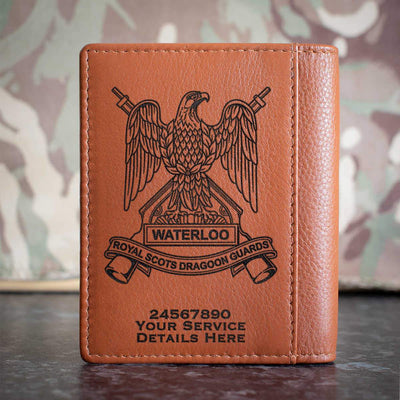 Royal Scots Dragoon Guards Credit Card Wallet