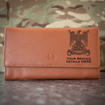 Royal Scots Dragoon Guards Leather Purse