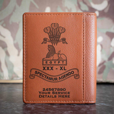 Lancashire Regiment Credit Card Wallet