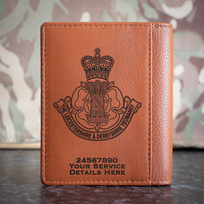 Leicestershire and Derbyshire Yeomanry Credit Card Wallet