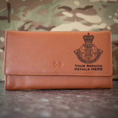 Leicestershire and Derbyshire Yeomanry Leather Purse