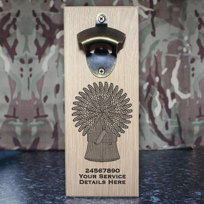 Lothians and Borders Horse Yeomanry Wall-Mounted Bottle Opener
