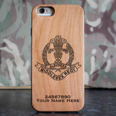 Middlesex Regiment Phone Case