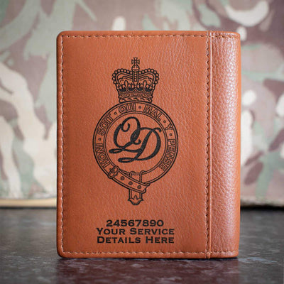 Minden Band of the Queens Division Credit Card Wallet