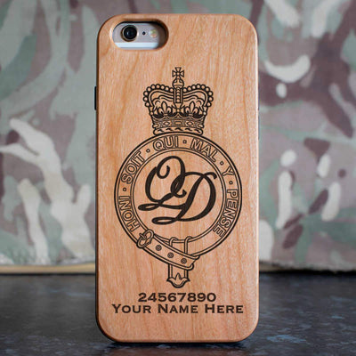 Minden Band of the Queens Division Phone Case