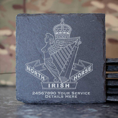 North Irish Horse Slate Coaster