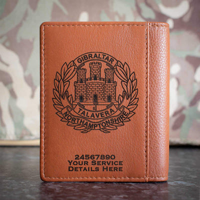 Northamptonshire Regiment Credit Card Wallet