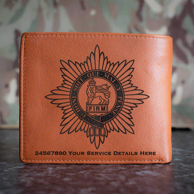 Worcestershire Regiment Leather Wallet