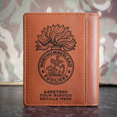Northumberland Fusiliers Credit Card Wallet