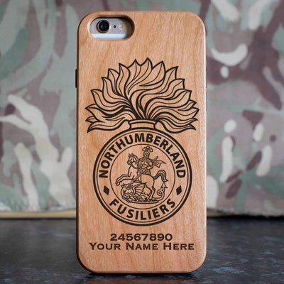 Northumberland Fusiliers Phone Case