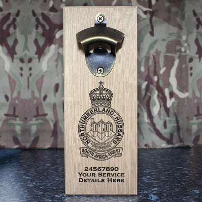Northumberland Hussars Wall-Mounted Bottle Opener
