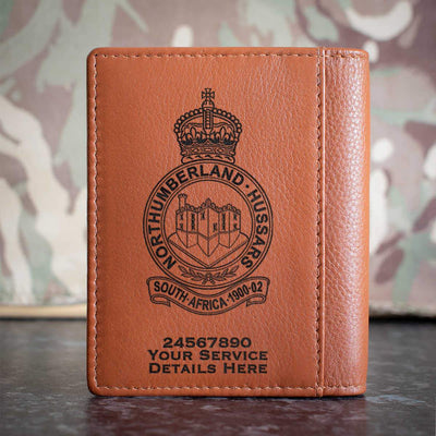 Northumberland Hussars Credit Card Wallet