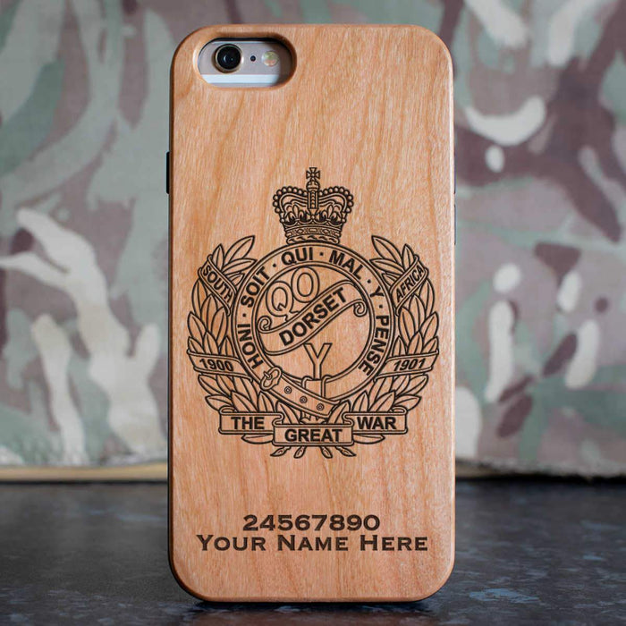 Queens Own Dorset Yeomanry Phone Case