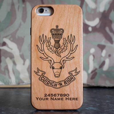 Queens Own Highlanders Phone Case