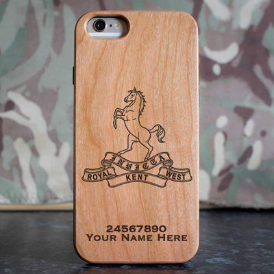 Queens Own Royal West Kent Regiment Phone Case