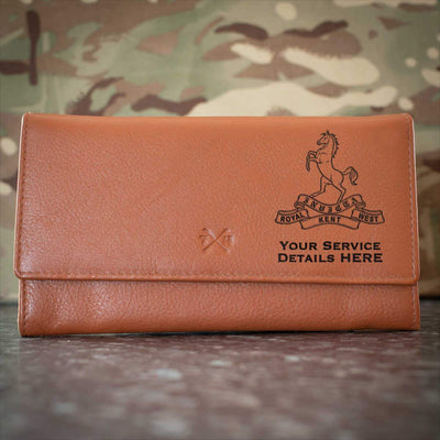 Queens Own Royal West Kent Regiment Leather Purse