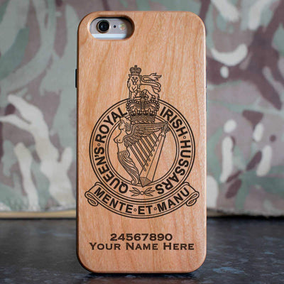 Queens Royal Irish Hussars Phone Case