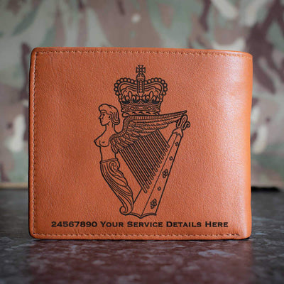 Ulster Defence Regiment Leather Wallet