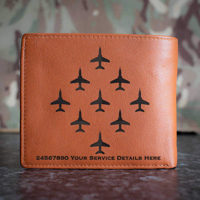 Red Arrows Diamond Leather Wallet