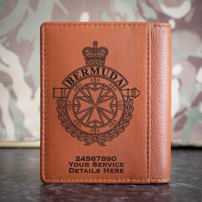 Royal Bermuda Regiment Credit Card Wallet