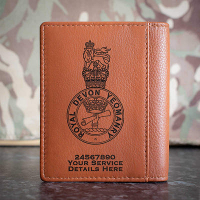 Royal Devon Yeomanry Credit Card Wallet