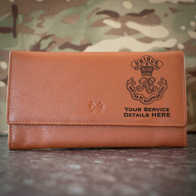 Royal Engineers Cypher Leather Purse