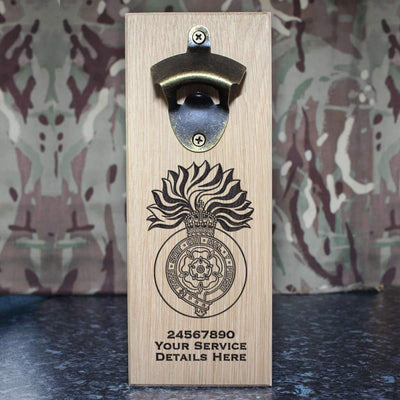 Royal Fusiliers (City of London Regiment) WW1 Wall-Mounted Bottle Opener