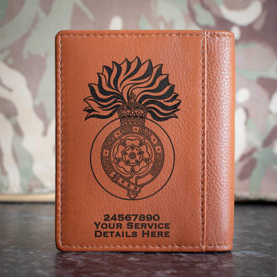 Royal Fusiliers (City of London Regiment) WW1 Credit Card Wallet