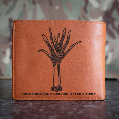 Welsh Guards Leather Wallet